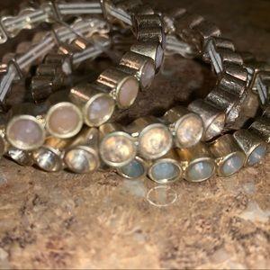 LOFT bracelet trio NWT